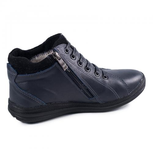 Ботинок Рекс 2 синяя кожа