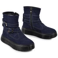Ботинок 2 П/1 чернильный синий нубук