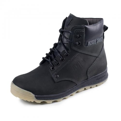 Ботинок Кет черные крейзи