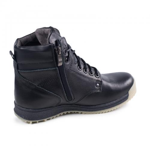 Ботинок Кет черная кожа