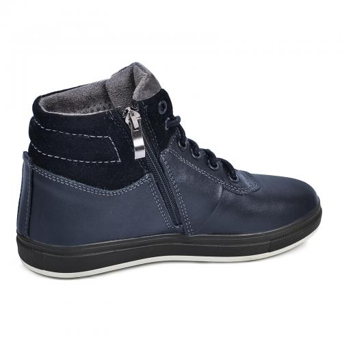 Ботинок ТБ синяя кожа
