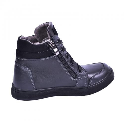 Ботинок Клок синяя кожа