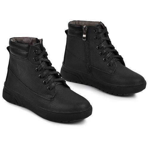 Ботинок Кадет черный флотар