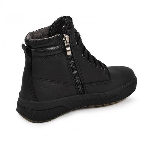 Ботинок Кадет черный мустанг