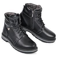 Ботинок Кет 3 черная кожа