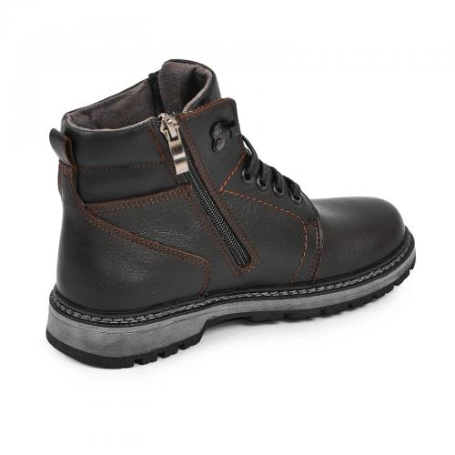 Ботинок Кет 3 коричневая кожа