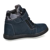 Ботинок Конверс синий мат