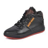 Ботинок М 11 черная кожа