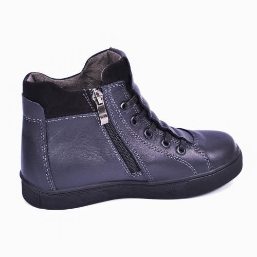 Ботинок Поло 2 синяя кожа