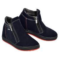 Ботинок РК 2 синий замш