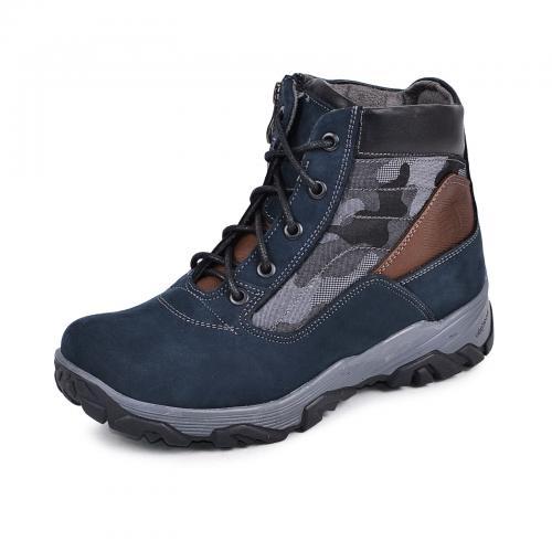 Ботинок Скипер синий мат милитари