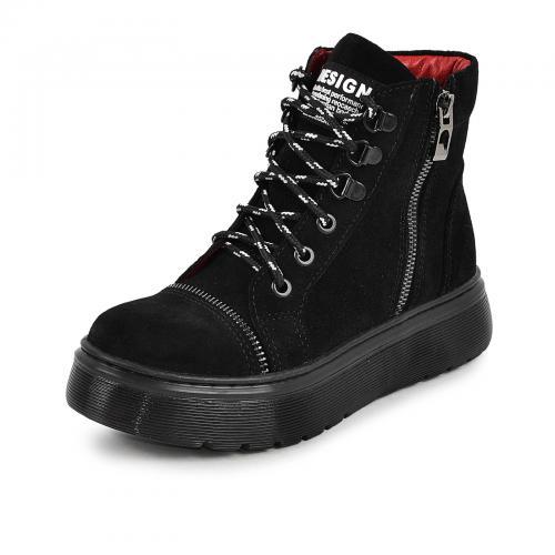 Ботинок Харли 2 черный замш