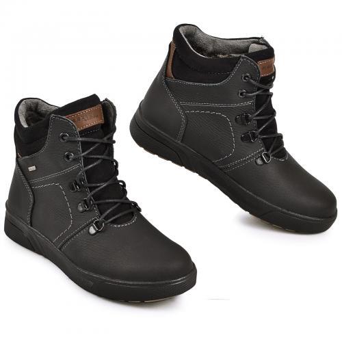 Ботинок Флай черный мат