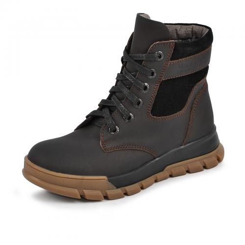 Ботинок Сноу коричневый мат