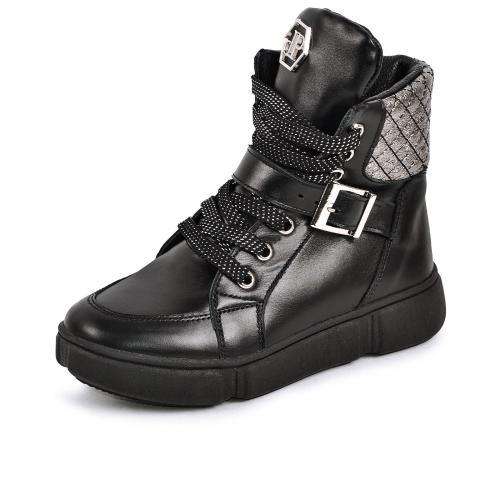 Ботинок 1901 черная кожа