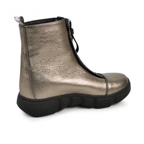 Ботинок 1903 бронза кожа