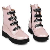 Ботинок 1910 розовая кожа флотар