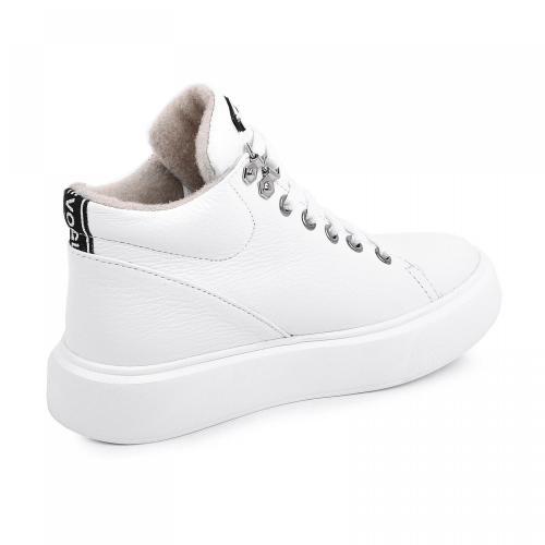 Ботинок Адель белый флотар д