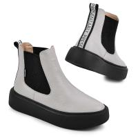 Ботинок Челси 2 серый флотар
