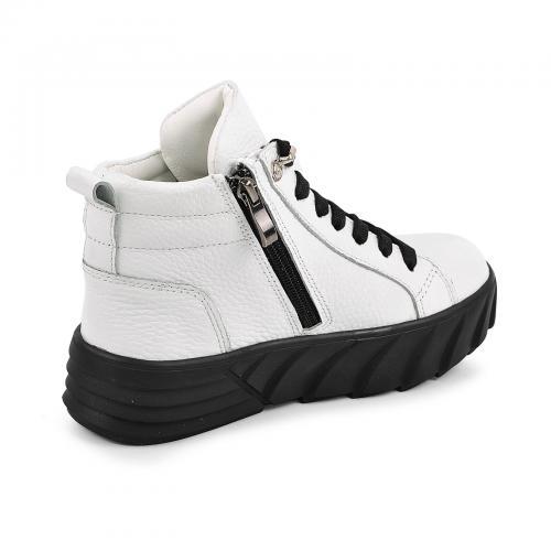 Ботинок Мидина белый флотар д