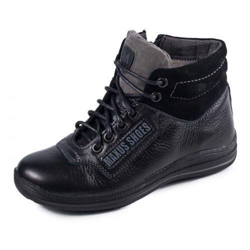 Ботинок ТБ черная кожа