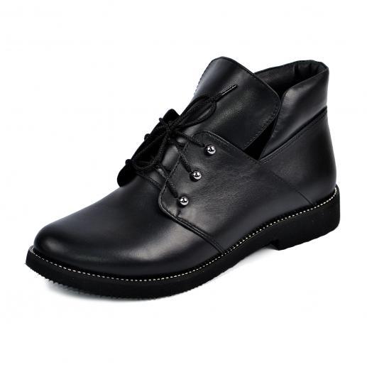 Ботинок 310 черная кожа