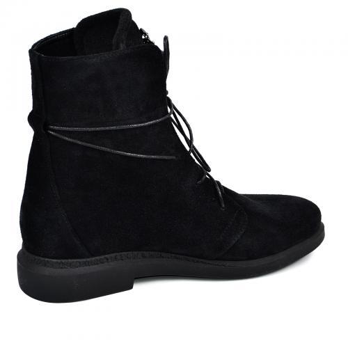 Ботинок 314 черный замш