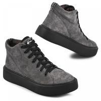 Ботинок Адель 2 серый замш