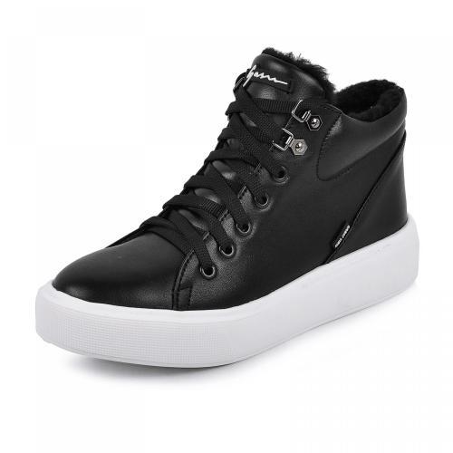 Ботинок Адель черная кожа