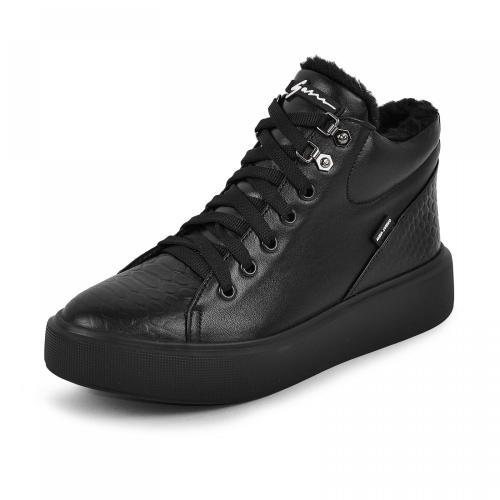 Ботинок Адель 2 черная кожа