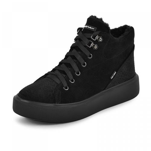 Ботинок Адель 2 черный замш