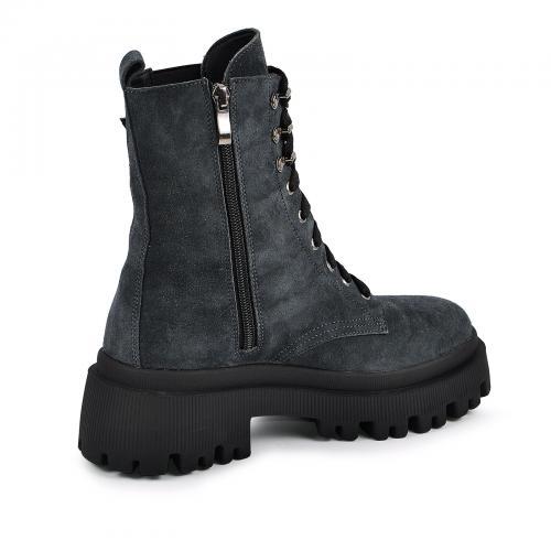 Ботинок Берта серый замш