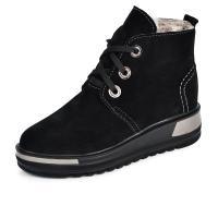 Ботинок Невада черный замш