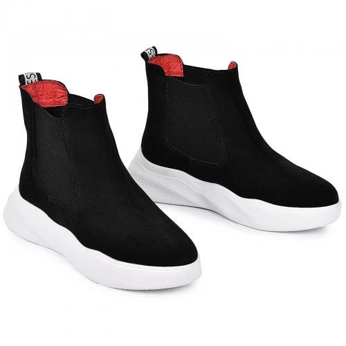 Ботинок Челси-1 черный лак