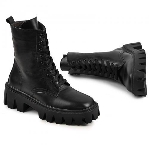 Ботинок Донна черная