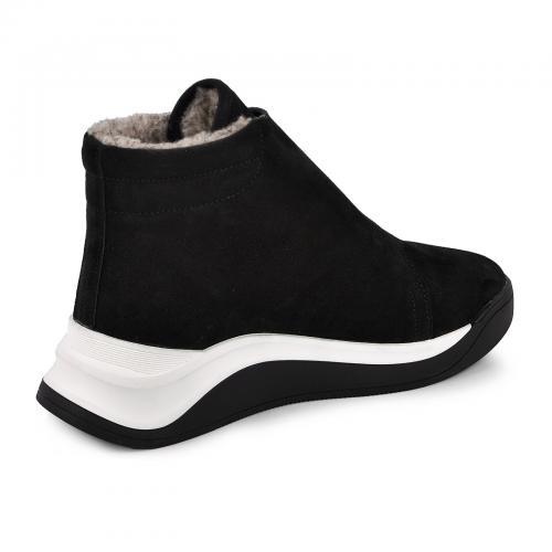 Ботинок Элис черный замш