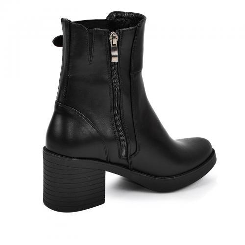 Ботинок Кетрин черная кожа