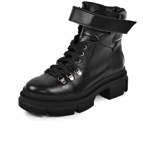 Ботинок КС 91 черная кожа