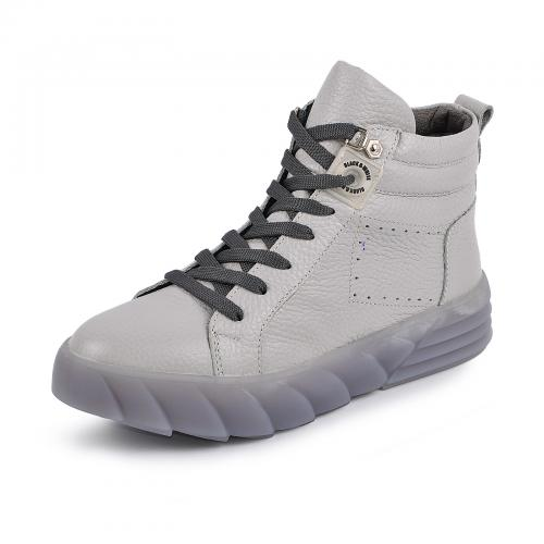 Ботинок Мидина серый флотар