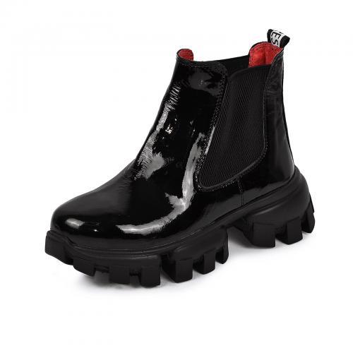 Ботинок Оникс черный лак