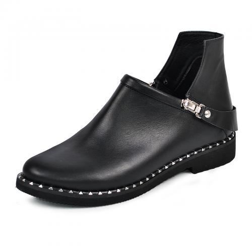 Ботинок  311 черная кожа