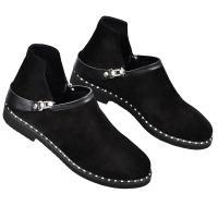 Ботинок 311 черный замш