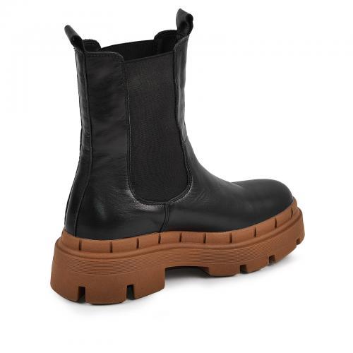 Ботинок Тина черная кожа Ж П