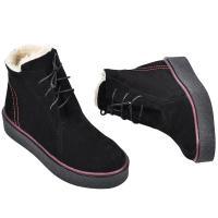 Ботинок Денчеры черный замш