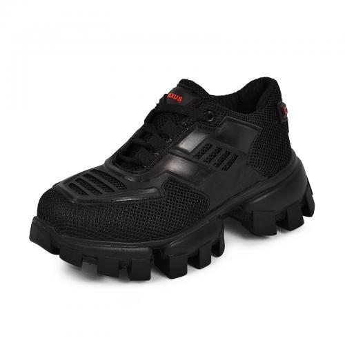 Кроссовки АВ сетка черная