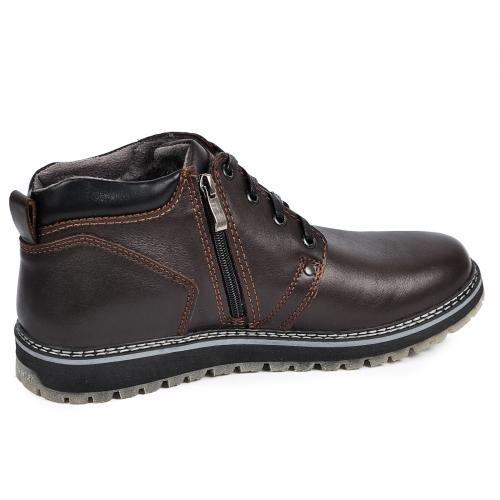 Ботинки 82 коричневая кожа