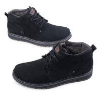 Ботинки 82 черный нубук