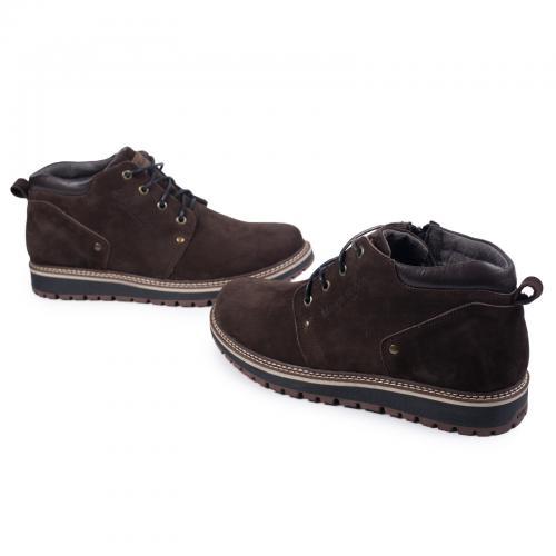 Ботинки 82 коричневый нубук