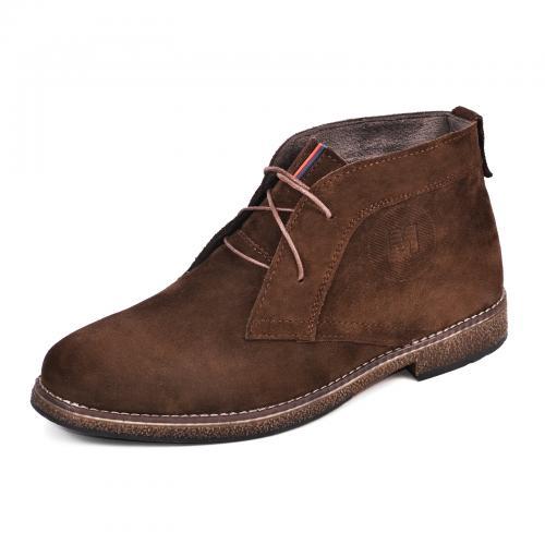 Ботинки НФ коричневый замш