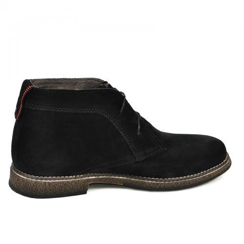 Ботинки НФ черный замш